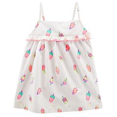 Baby Girl OshKosh B'gosh® Ruffled Yoke Tank Top