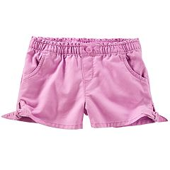Baby Girl OshKosh B'gosh® Knot-Hem Denim Shorts