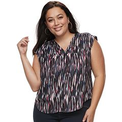 Plus Size Jennifer Lopez Popover Top