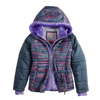 Girls 4-16 Free Country Space-Dyed Heavyweight Puffer Jacket