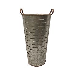 SONOMA Goods for Life™ Small Galvanized Metal Bucket Decor