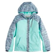 Girls 7-16 Free Country Printed Heavyweight Boarder Jacket