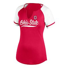 Women's Ohio State Buckeyes Outfield Tee