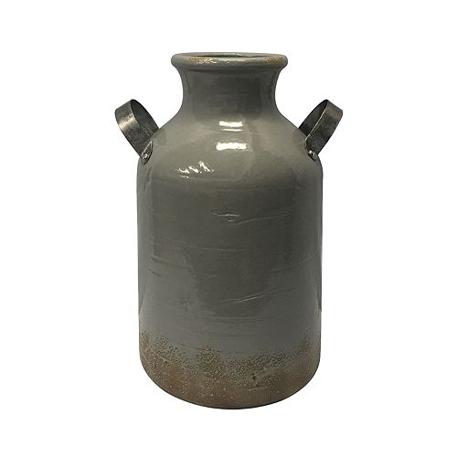 SONOMA Goods for Life™ Decorative Rustic Gray Vase Table Decor