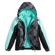 Girls 7-16 Free Country Heavyweight 3-in-1 Systems Jacket