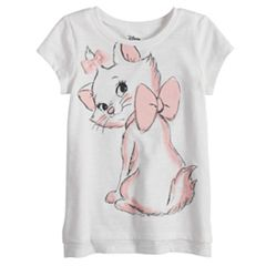 Disney's Aristocats Marie Baby Girl Cat Graphic Tee by Jumping Beans®