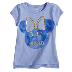 Disney's Minnie Mouse Baby Girl 'Girls Run The World' Graphic Tee by Jumping Beans®