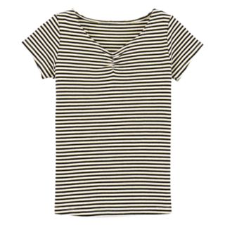 Girls 4-12 Carter's Striped Ribbed Top
