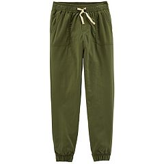 Girls 4-14 Carter's Solid Jogger Pants
