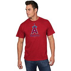 Men's Majestic Los Angeles Angels of Anaheim Game Fundamentals Tee