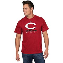 Men's Majestic Cincinnati Reds Game Fundamentals Tee