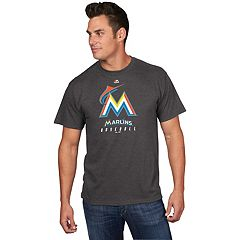 Men's Majestic Miami Marlins Game Fundamentals Tee