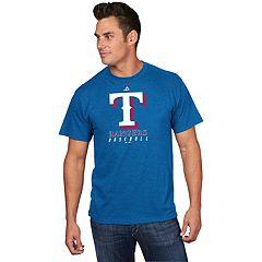 Men's Majestic Texas Rangers Game Fundamentals Tee