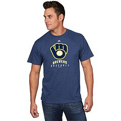 Men's Majestic Milwaukee Brewers Game Fundamentals Tee