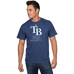 Men's Majestic Tampa Bay Rays Game Fundamentals Tee