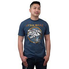 Big & Tall Fifth Sun Star Wars Battleship Graphic Tee