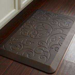 Food Network™ Ultra Comfort Tavertine Scroll Kitchen Mat