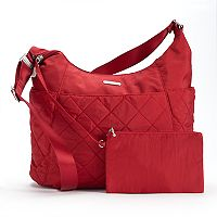 Baggallini Quilted Crossbody Bag with RFID-Blocking Pouch