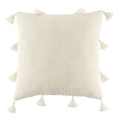 LC Lauren Conrad Tassel Knit Throw Pillow