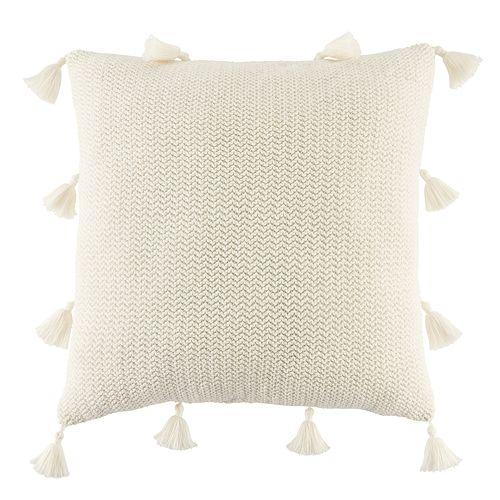 LC Lauren Conrad Tassel Knit Throw Pillow