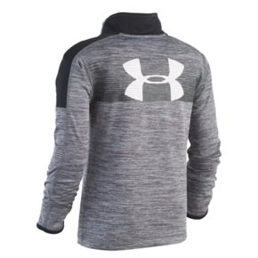 Toddler Boy Under Armour Quarter Zip Marled Pullover Top