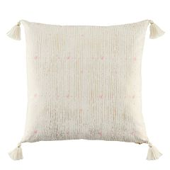 LC Lauren Conrad Metallic Print Throw Pillow