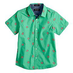 Boys 8-20 Eighty Eight Button-Down Woven Shirt