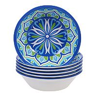 Certified International Morocco 6-piece Melamine All-Purpose Bowl Set