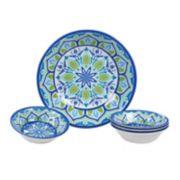 Certified International Morocco 5-piece Melamine Salad Serving Set