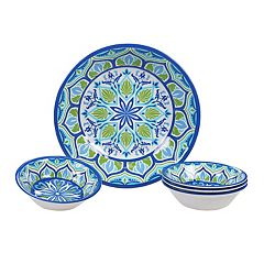 Certified International Morocco 5-piece Melamine Salad Serving Set