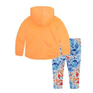 Toddler Girl Nike Therma-FIT Hoodie & Splatter Leggings Set