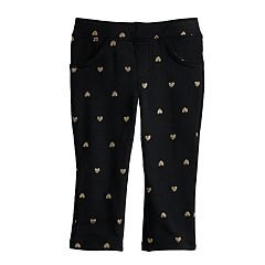 Baby Girl Jumping Beans® Printed Jeggings