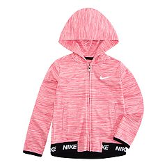 Toddler Girl Nike Dri-FIT Crossdyed Hoodie