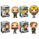 Funko POP! Movies Harry Potter Series 4 Collectors Set: Peter Pettigrew, Luna Lovegood (Lion Head), Ginny Weasley & Remus Lupin