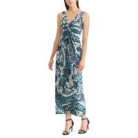 Women's Chaps Paisley Twist-Front Maxi Dress