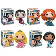 Funko POP! Disney Princess Collectors Set 2: Mulan, Merida, Aurora & Jasmine
