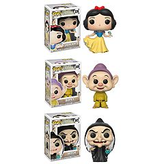Funko POP! Disney's Snow White Collectors Set: Snow White, Dopey & Witch