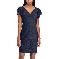 Women's Chaps Lace Flutter Sleeve Dress