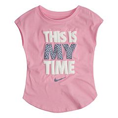 Toddler Girl Nike 'This Is My Time' Graphic Top