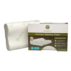 Essence of Bamboo Contour Memory Foam Pillow