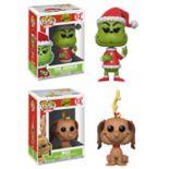 Funko POP! Books The Grinch Collectors Set: Santa Grinch &  Max the Dog
