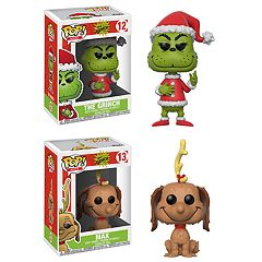 Funko POP! Books The Grinch Collectors Set: Santa Grinch &  Max the Dog