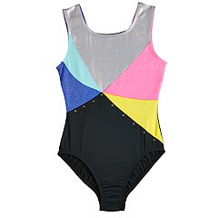 Girls 4-14 Jacques Moret Hologram Leotard