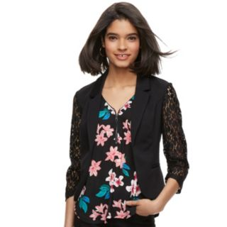 Juniors' Candie's® Lace Blazer