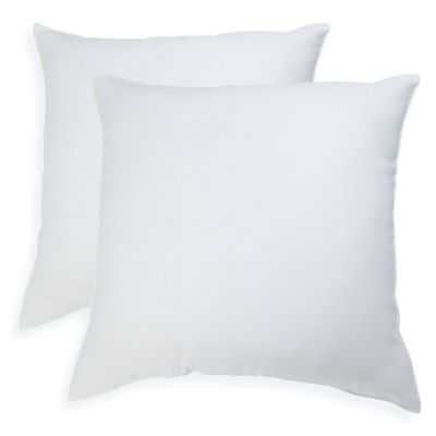 ISOPEDIC 2-pack Square Euro Pillows