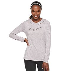 Women's Nike Dry Victory Training Hooded Long Sleeve Top