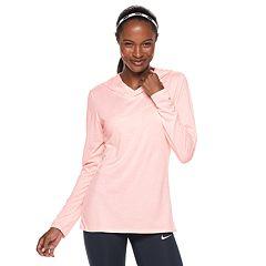 Women's Nike Dry Victory Training Hooded Long Sleeve Top