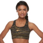 Nike Victory Metallic Medium-Impact Sports Bra 928872