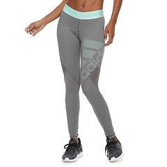 Women's adidas Alphaskin Sport Mid-Rise Long Leggings