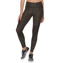 Women's Nike Power Training Mesh Panel Midrise Leggings